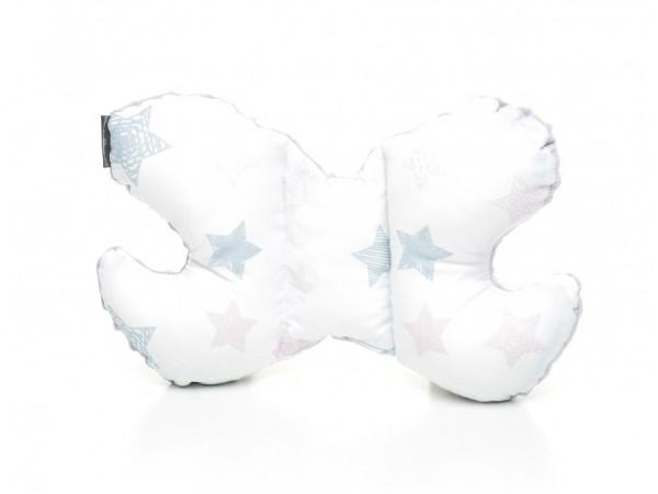 Kołderka 75 x 100 cm + poduszka 30 x 40 cm kotki|szary