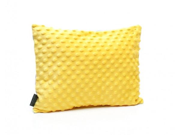 Kołderka 75 x 100 cm + poduszka 30 x 40 cm kotwice na szarym|błękitny
