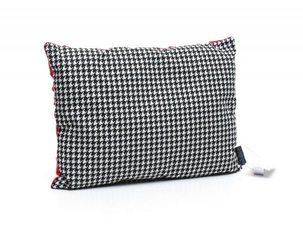 Kołderka 100 x 135 cm + poduszka 40 x 60 cm potworki szare|turkus