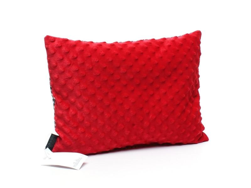 Kołderka 100 x 135 cm + poduszka 40 x 60 cm potworki szare|jasny zielony