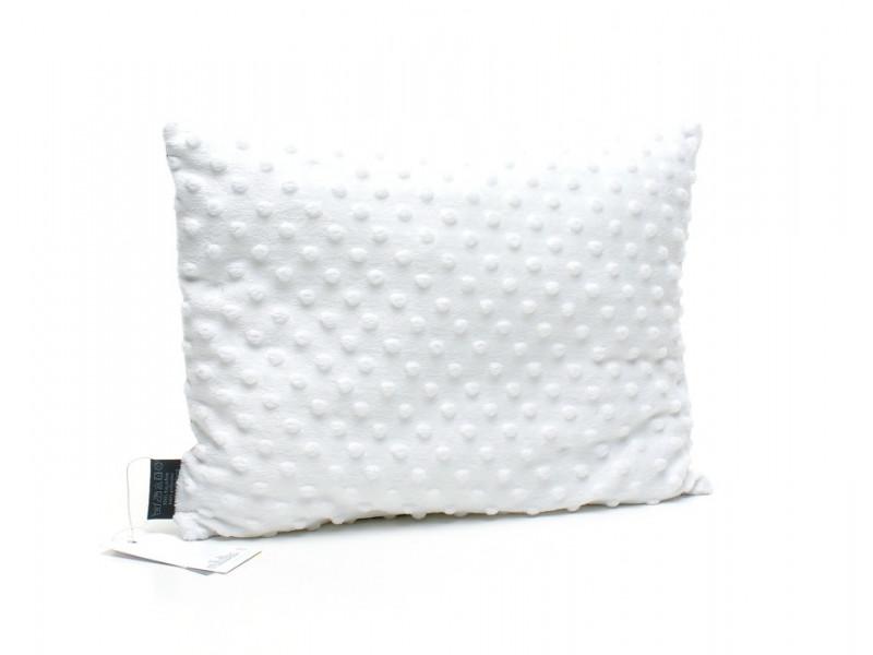 Kołderka 100 x 135 cm + poduszka 40 x 60 cm serduszka na szarym|mięta