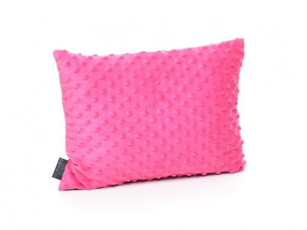 Kołderka 100 x 135 cm + poduszka 40 x 60 cm kolorowe serduszka|szary