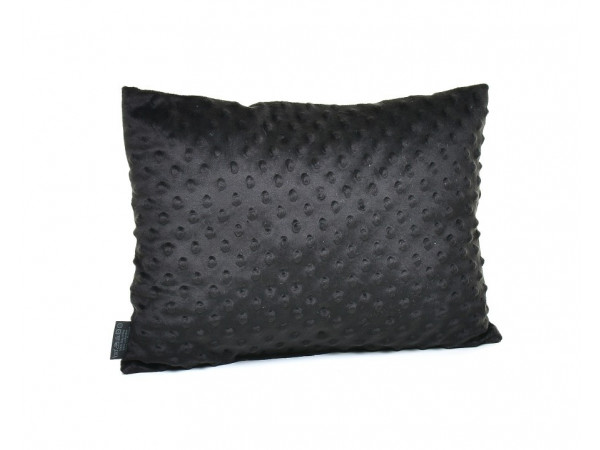 Kołderka 50 x 75 cm + poduszka 30 x 40 cm serduszka na szarym|mięta