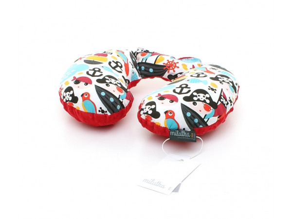 Poduszka 30 x 40 kolorowe jamniki| turkus